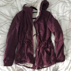 H&M Sherpa Lined Jacket
